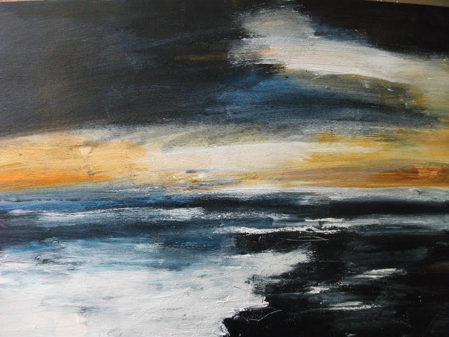 Sunrise, painted on the Brigg