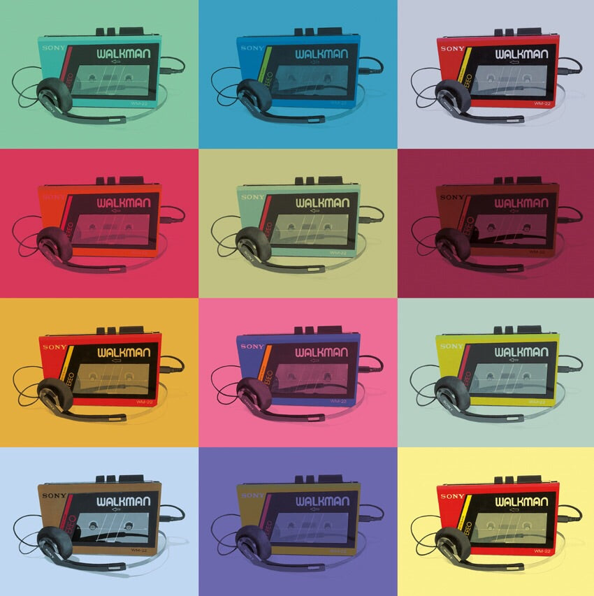 MULTI WALKMAN (COLOUR)