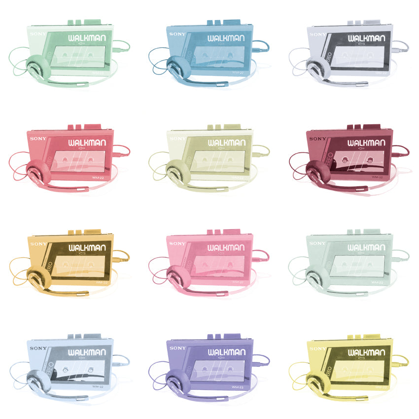 MULTI WALKMAN (WHITE BACKGROUND)
