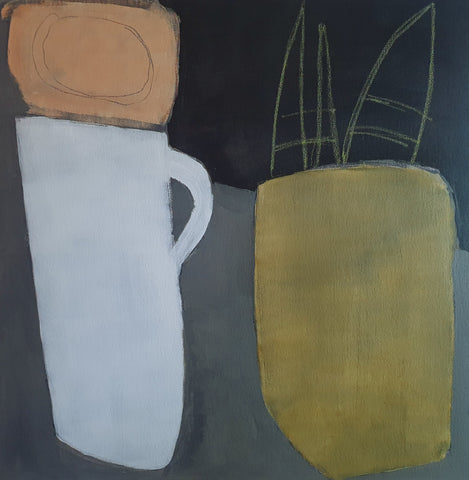 Carol Douglas - Jug and Plant
