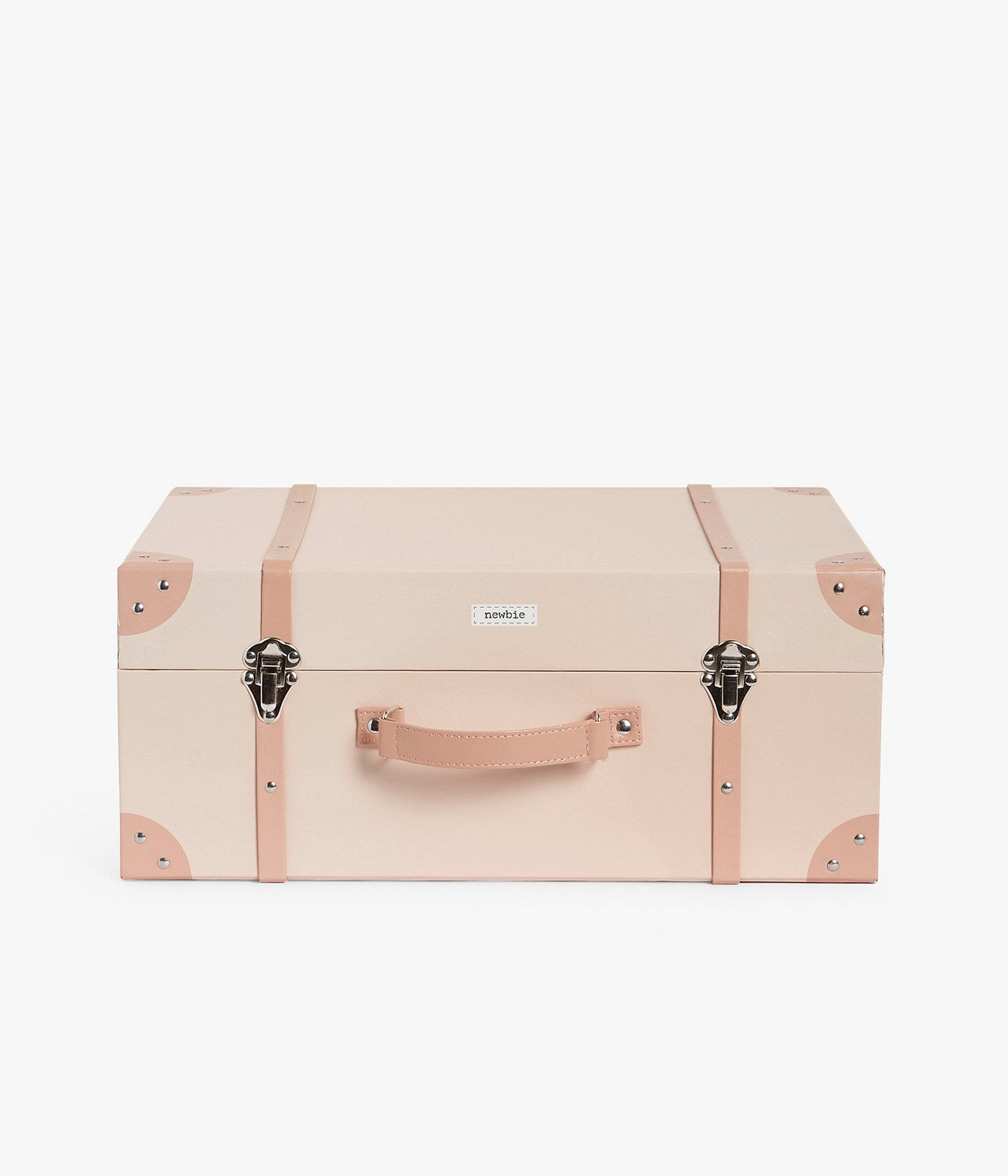 Pink floral print trunk