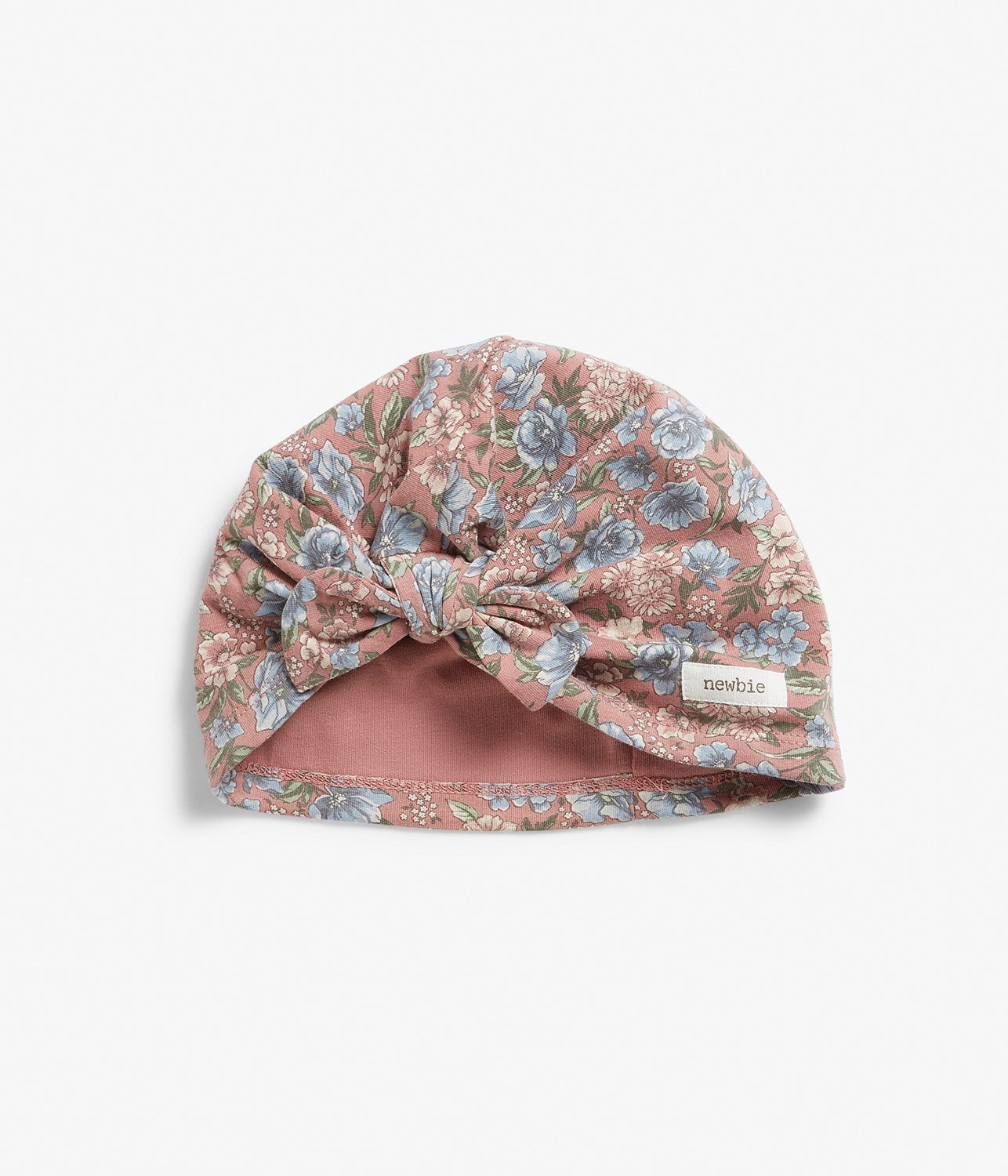 Baby floral print hat