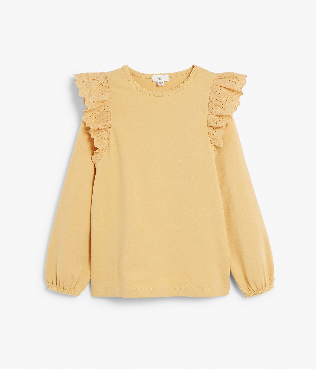 Kids yellow long sleeve top