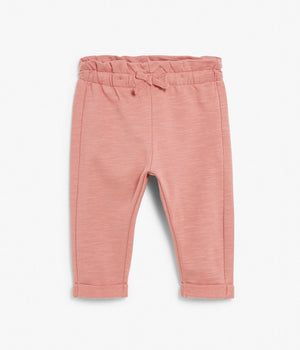 Baby pink jogging trousers