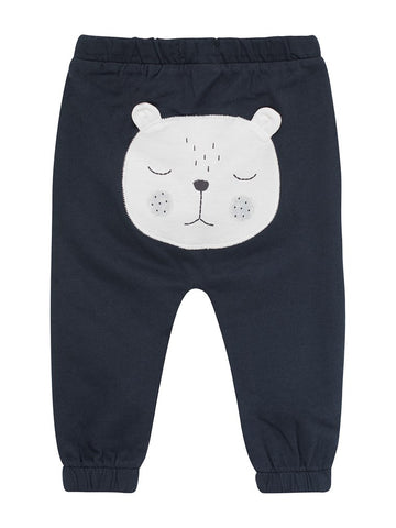 Baby sweatpants with bear