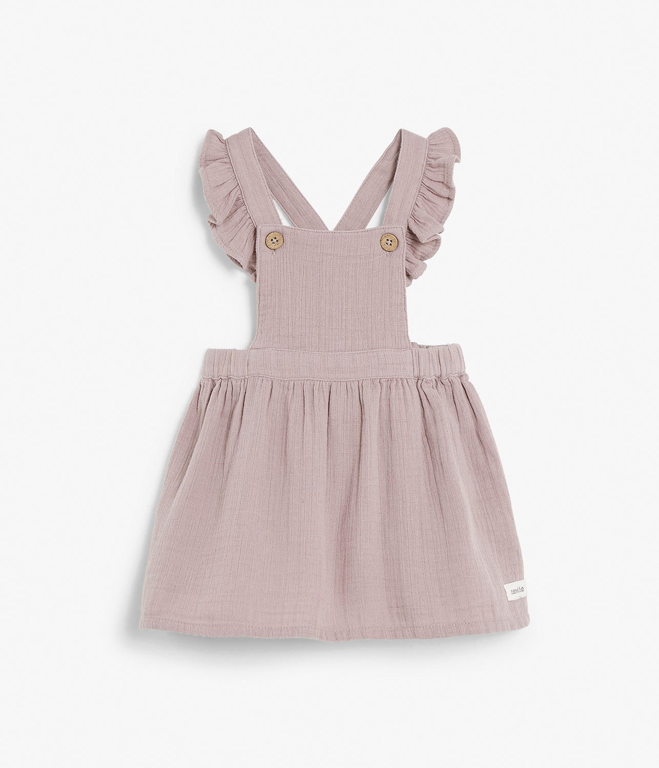 Baby purple dungarees dress