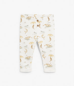 Baby animal printed thicker leggings