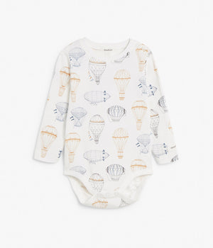 Baby air balloon print body