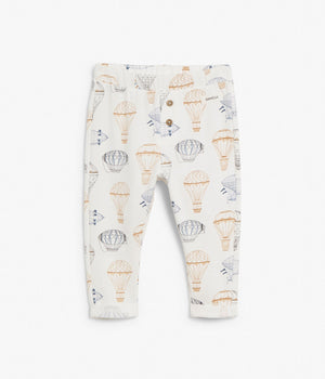 Baby air balloon printed thicker leggings