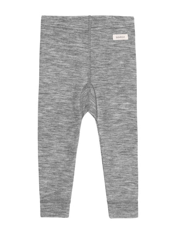 newbie kids Leggings grey organic cotton