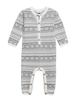 newbie kids Pyjama suit print organic cotton
