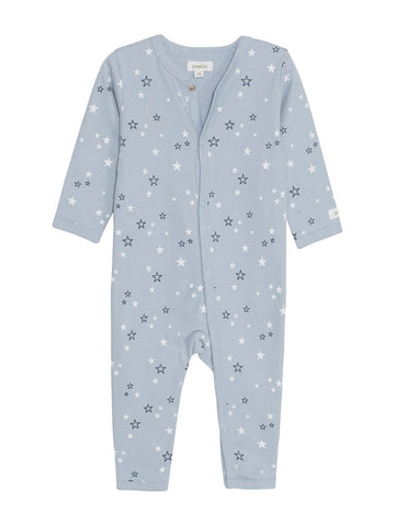 Sleepsuit with star print