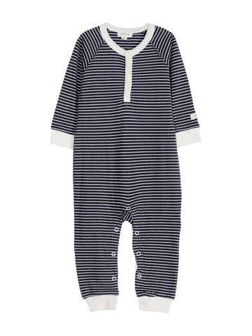 Sleepsuit with stripe print