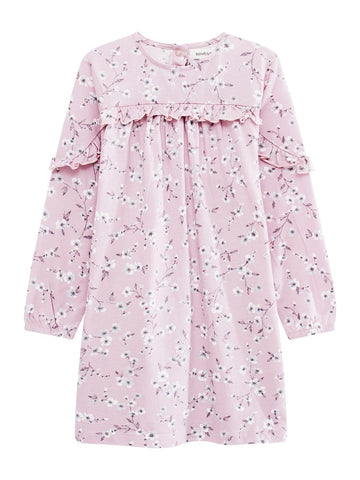 Dress with cherry blossom print