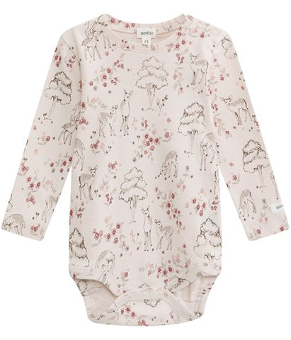 Baby body with deer print