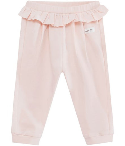 Baby trousers with frill