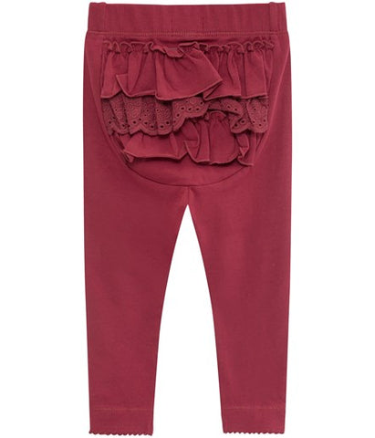 Baby leggings with ruffles