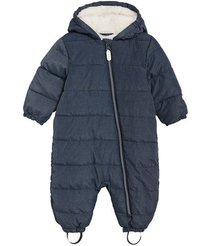 Baby waterproof padded snowsuit