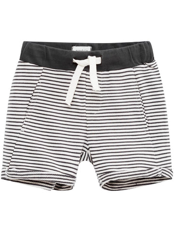 Jersey striped shorts