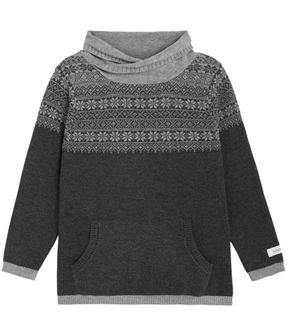 Jumper with fairisle pattern