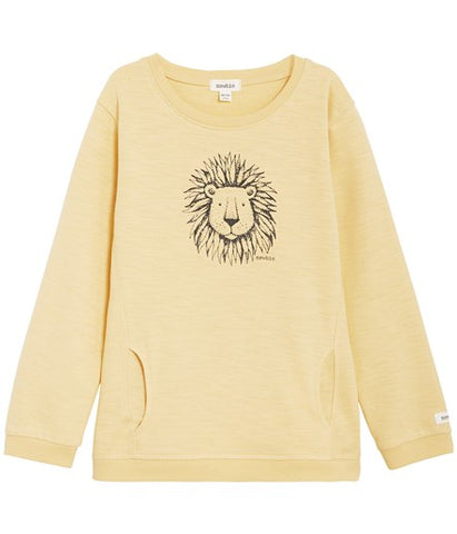 Top with lion print