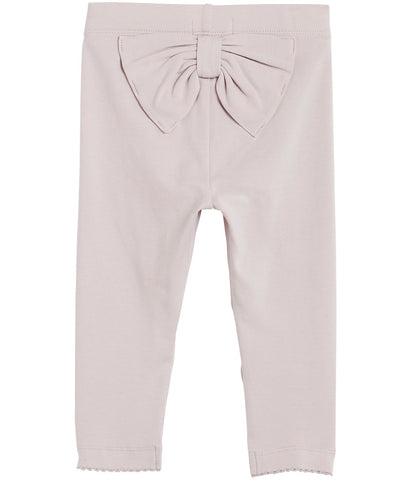 0c941761be1 Basic baby leggings with bow. Quick Shop