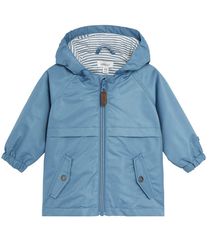 Baby water repellent hooded jacket