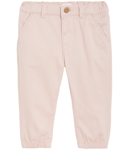 Baby trousers with frill pockets