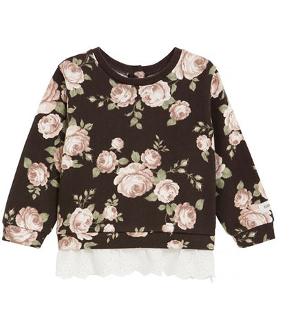 Baby floral print top