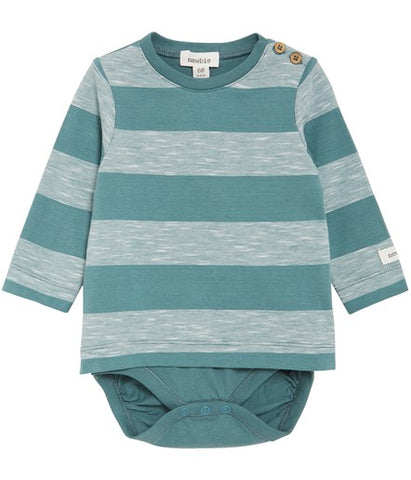 Long sleeve body with stripes