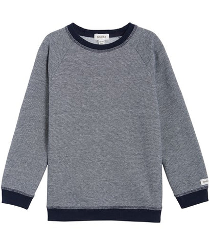 Sweatshirt with contrast trims