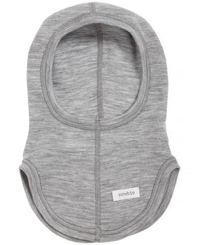 Baby thermal wool hood