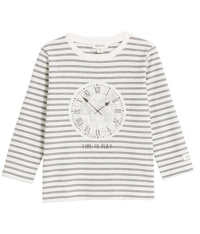 Top with 'time to play' & clock print