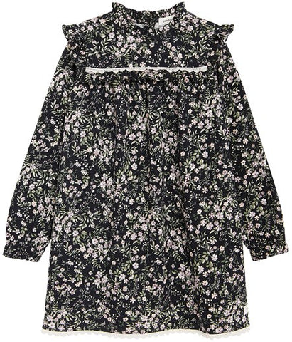 Dress with dainty floral print