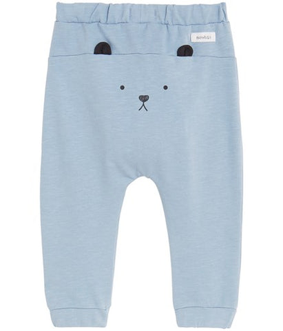 Baby sweatpants with bear print