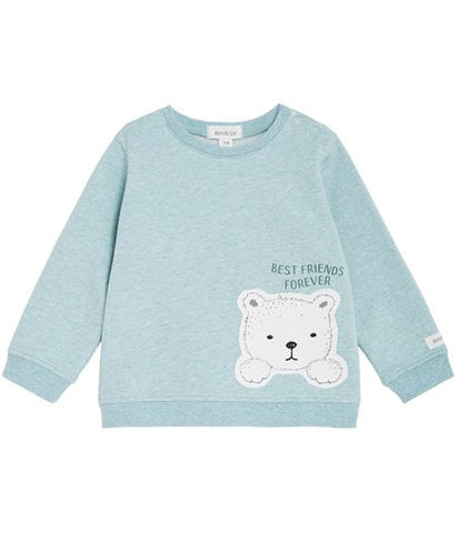 Baby top with best friends teddy print