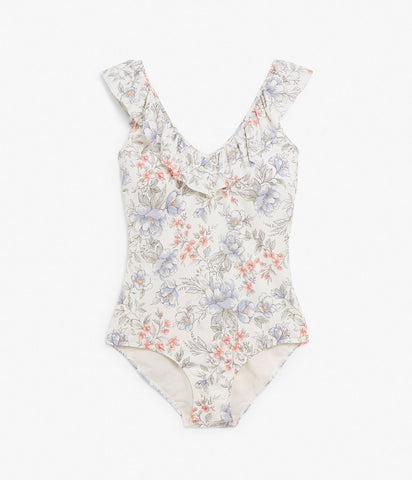 Limited Edition Mom floral swimsuit
