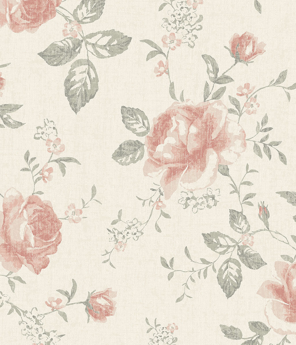 Rose Garden large mural wallpaper