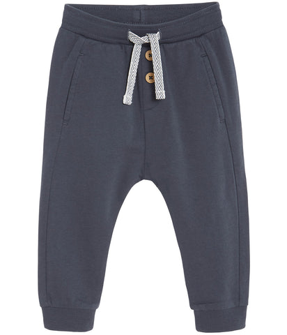 Baby sweatpants with drawstring waist