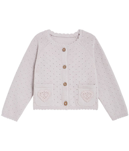 Baby cardigan with pockets