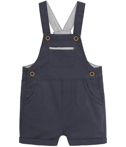 Baby shortie dungarees with pocket