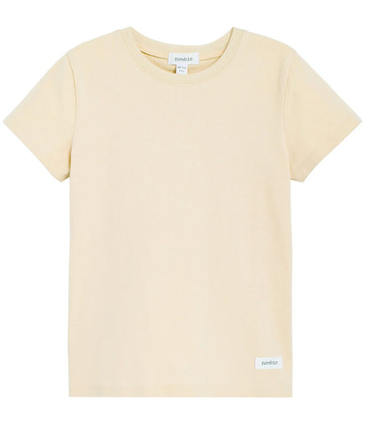 Short sleeve t-shirt in yellow