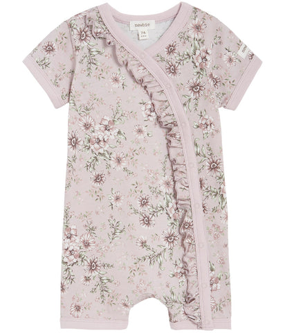 Baby floral shortie with frills