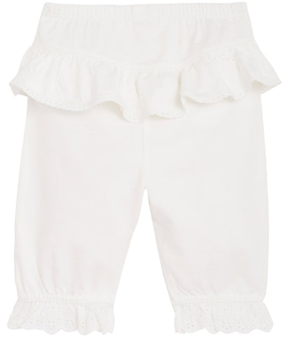 Baby trousers with frills