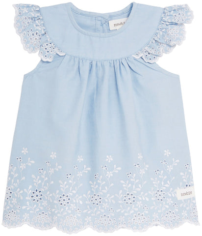 Baby summer dress and shorts set