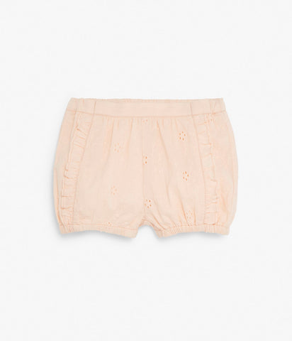 Baby embroidered shorts