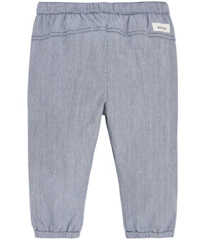 Trousers with drawstring waist