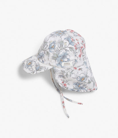 Limited Edition Floral cap with sun visor