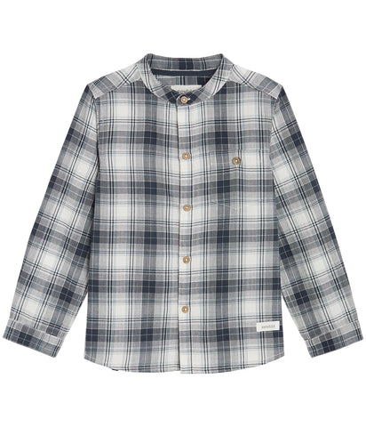Long sleeve check shirt