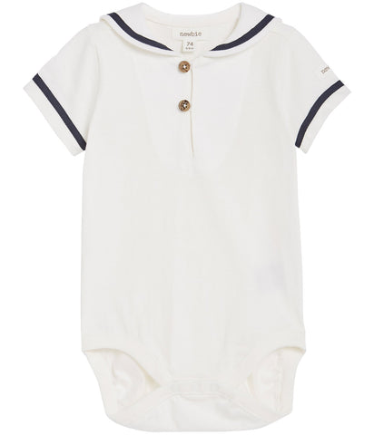 Baby shortie with sailor collar